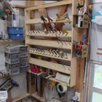 作業場用整理棚作成致します。 どんな棚でもオーダーで作成致します。