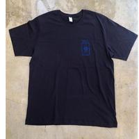 Grill skateboard T-shirts (Navy x  Blue