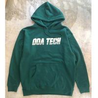 """DOA """"Tech Hoodie"""" Green"""