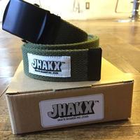"JHAKX 90s Belt ""Olive"""