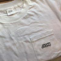 Simple Poket Tee(White