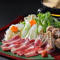 「特別料理」佐藤料理長・自家製会津さくら鍋「2名様分」