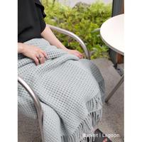 ELVANG(デンマーク)|北欧カラーとざっくり編みで適度な抜け感が魅力のブランケット - Basket -