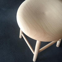 NORDIC STOOL|Natural small
