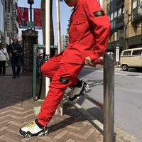 STONE ISLAND  CARGO PANTS  701532203  RED