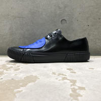 BOTH PARIS Rubber Patch Low-top BLACK/BLUE
