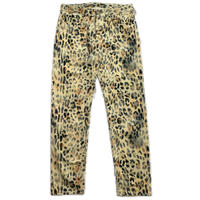 NAPA  BY MARTINE ROSE M-LEOPARD PANTS TAN