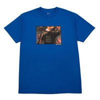 WKND SKATEBOARDS BAD FISH TEE ROYAL BLUE