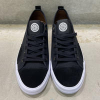 STATE FOOTWEAR × MORTAR HARLEM CANVAS/SUEDE  BLACK