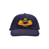 POP TRADING COMPANY ROYAL O 6PANEL HAT NAVY