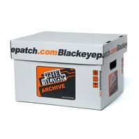 BLACK EYE PATCH ARCHIVE BOX (3 PIECES)