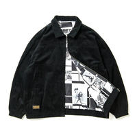 TIGHTBOOTH FORTRESS CORD JACKET BLACK