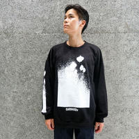 GARBAGE_TV TAKE US UP SWEATER BLACK