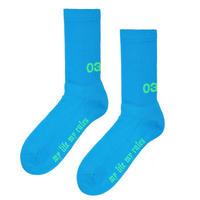 032c SOCKS BLUE