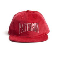 PATERSON EURO GAP CORDUROY HAT RED