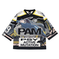 P.A.M  NEW WORLDS OVERSIZED SUBLIMATION TOP  MULTI