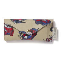 "stacks × FABRICK ""alehsy"" by BLACK EYE PATCH  GLASSES CASE"