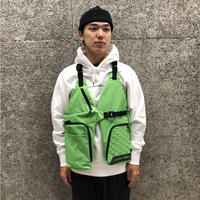 OAKLEY × SLAM JAM  BODY BAG VEST BAG LASER GREEN