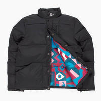 BY PARRA PUFFER JACKET GRAB THE FLAG PATTERN