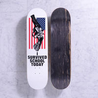 QUASI SKATEBOARDS AMERICA WHITE 8.0