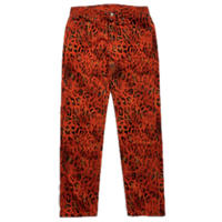 NAPA  BY MARTINE ROSE M-LEOPARD PANTS RED