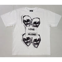 DUST TWO LOVE ALONE TEE WHITE