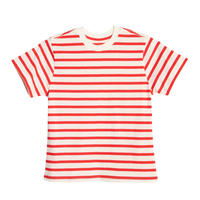 X  KARLA  THE STRIPE CREW (Off White/Red)
