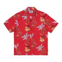 CARHARTT WIP S/S HAWAIIAN FLORAL SHIRT - HAWAIIAN FLORAL PRINT  RED