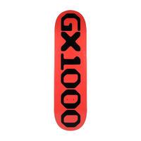 GX1000 OG LOGO RED 8.125INCH