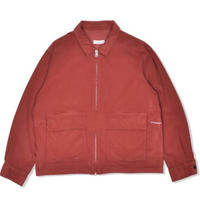 POP TRADING COMPANY ZIP JAKET RED