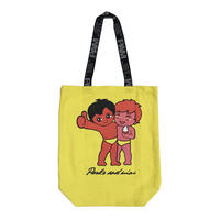 P.A.M  FRIENDS TOTE  BRIGHT YELLOW