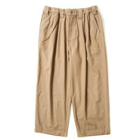 TIGHTBOOTH PRODUCTION BAGGY WOOL PANTS BEIGE