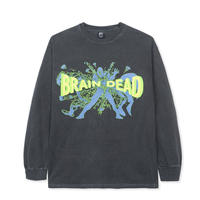 BRAIN DEAD BLAMMIN' LONG SLEEVE TEE -BLACK