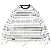 TIGHTBOOTH PRODUCTION ENCORE CREW SWEAT WHITE