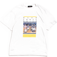 DIASPORA SKATEBOARDS ALTERNATIVE TEE WHITE