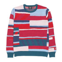 BY PARRA PREMIUM STRIPES KNITTED PULLOVEER