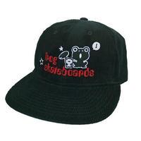 FROG SKATEBOARDS CORDUROY HAT BLACK