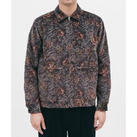 MAIDEN NOIR HARRINGTON JACKET DUSK FLORAL