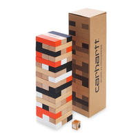 CARHARTT W.I.P STACKING BLOCKS GAME MULTICOLOR
