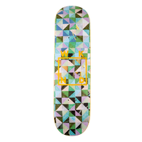 WKND SKATEBOARDS TESSELLATION LOGO - FLATTY GREEN 8.125INCH
