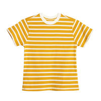 X  KARLA THE STRIPE CREW  (Mustard/Off White)