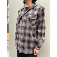 PENDLETON BOARD SHIRT TAN/BLACK/GREY OMBRE