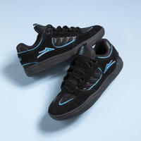 LAKAI CARROLL BLACK SUEDE