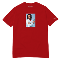 HOTEL BLUE YOUNGBLOOD TEE RED