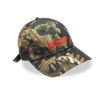 DREAMLAND SYNDICATE CORE LOGO CAP LEAF CAMO