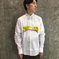 SOULLAND SAUL SHIRT  WHITE