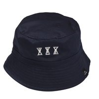 SOUR  SOURGLASS  BUCKET HAT  NAVY