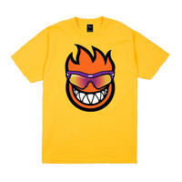 DIME DIME/SPITFIRE T-SHIRT YELLOW