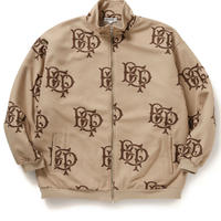 BLACK EYE PATCH  EMBLEM FLEECE JACKET KHAKI