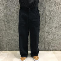 POETICCOLLECTIVE  CORDUROY PAINTER PANTS BLACK